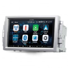 Alpine Chrysler 300C Jeep Grand Cherokee CarPlay AndroidAuto Multimedya Sistemi