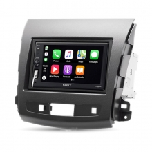 Sony Mitsubishi Outlander Peugeot 4007 Apple CarPlay Multimedya Sistemi