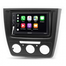Sony Skoda Yeti Manuel Klima Apple CarPlay Multimedya Sistemi