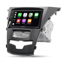 Sony SSANG YONG Actyon Korando Apple CarPlay Multimedya Sistemi